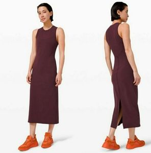 NWT Lululemon - All Aligned Midi Dress size 2